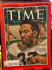 Time Magazine November 26 1965 Cleveland Browns Jimmy Brown
