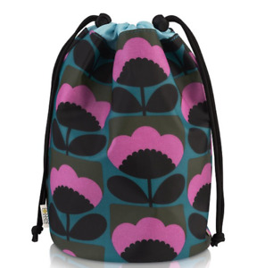 Orla Kiely Spring Bloom Barrel Wash Bag