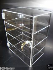 "Acrylic Countertop Display Case 12"" x 8"" x 16"" Locking Security Show Case Safe B"