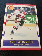 Eric Weinrich    Devils 1990-1991 Score Prospect #389