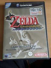 zelda wind waker gamecube limit edition with bonus disc
