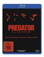 Predator - Teil: 1-4 [4 Blu-ray's /FSK 18/NEU/OVP] Uncut