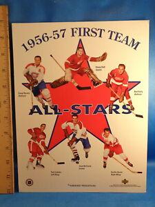 1994 UPPER DECK HOCKEY - PARKHURST 1956-57 ALL STARS (1) 8 X 11 SHEET ! LQQK !
