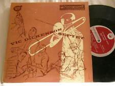 "VIC DICKENSON Septet RUBY BRAFF Edmond Hall Sir Charles Thompson Vanguard 10"" LP"