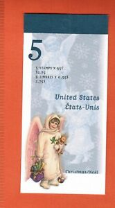 1999  CANADA BOOKLET STAMPS BK223 # 1816  CHRISTMAS VICTORIAN ANGEL OC20