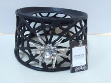 Pottery Barn Black Spider Web Drink Dispenser Stand New with Tag