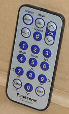 ORIGINAL GENUINE PANASONIC CAR AUDIO REMOTE CONTROL YEFX9992663
