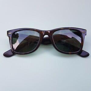 Ray-Ban Original Wayfarer Classic Sunglasses RB2140 Great Condition Handmade