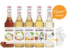 11,43€/l Monin Sirup MONIN-SET Café + 5 Pumpen gratis 5 x 0,7 Liter