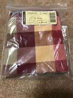Longaberger Utensil Liner in Woven Traditions Everyday Plaid #23926321 NEW