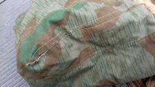 Alter Schlafsack gefertigt  aus Wehrmacht-Zeltplanen