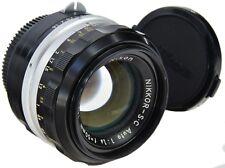 Nikon pre-AI 50mm 1.4 Nikkor-S * C