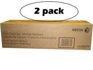 Lot of 2 Xerox Versant 80 2100 Drums 013R00676 - 13R676