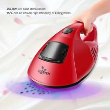 Euleven Hot Air Anti-Dust Mites UV Handheld Vacuum Cleaner w/HEPA Filter For Bed