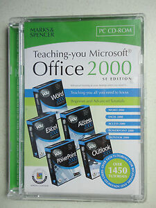 Marks and Spencer - Teaching you Microsoft Office 2000