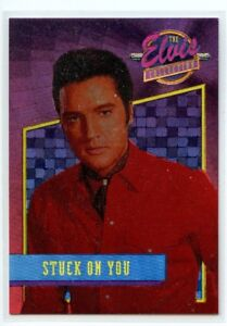 """Elvis Collection """"Stuck on You"""" Dufex Foil Card #33 of 40"""