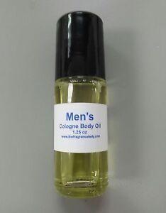 1.25 oz Egyptian Sandalwood Cologne Body Oil Fragrance Mens Roll On One Bottle