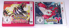 Juegos: Pokemon Omega rubin + Pokemon y para Nintendo 2ds, 3ds, 3ds XL, New 3ds