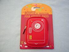HOUSSE DE PROTECTION APPAREIL PHOTO  ROUGE