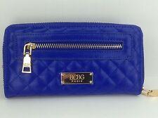Women's BCBG PARIS Brand ROYALTY BLUE Envelope Wallet - $68 MSRP - 10%