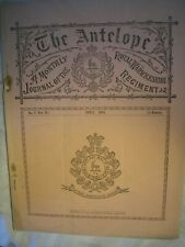 New listing Royal Warwickshire Regiment Journal 1903 British Army India Rrf History Fusilier