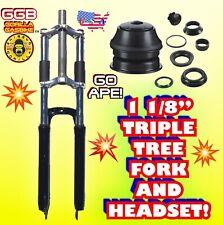 2-Stroke 66cc/80cc Motorized Bike 1 1/8� Fork And Headset For Motorized Bike Kit