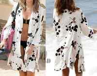 AU SELLER Oversize Cotton Kaftan Cardigan Open Top Beach Kimono Cover UP sw059