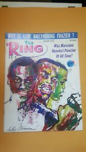The Ring Boxing Magazine. Jan. 1970. Neiman Cover. Marciano.