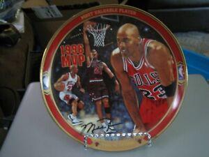Bradex Second Issue 1996 MVP Michael Jordan Return to Greatness Collector Plate