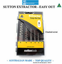 SUTTON EXTRACTOR EASY OUT SET SCREW NUT TOP QUALITY MADE IN AUSTRALIA SPECIAL