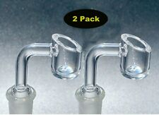 2 Pack 14mm Male Joint Quartz Banger Glass Bowl- 4Mm Thick Free Shipping *Usa*