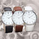 Luxury Brand Geneva Women dress Watches Leather Band Analog Quartz Wrist Watch