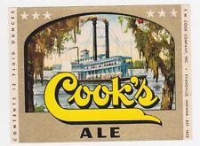 Cook's Ale Beer Label