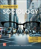 Experience Sociology by William Hoynes 9781259405235 (Paperback, 2017) Fast Del