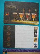 Beer Coaster ~ Brouwerij HET ANKER Gouden Carolus Tripel, Ambrio, Hopsinjoor Ale