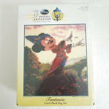New listing New Disney Dreams Collection Thomas Kinkade Mickey Fantasia Latch Hook Rug Kit