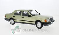 +++ Mercedes 200 D (W124) metallic hellgrün 1984 MCG 18206 1:18 +++