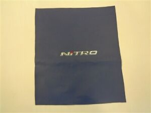 "NITRO VINYL SKIN BLUE / SILVER / RED 16 3/8"" X 14 1/4"" MARINE BOAT"