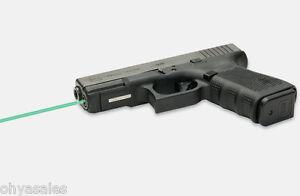 LaserMax Guide Rod Green Laser Sight for Glock 19 Gen 4 Pistols - LMS-G4-19G