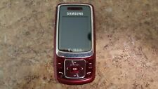 Samsung SGH-T239 T-Mobile Cellular Phone Red in box