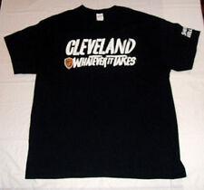 e75018bf7 Cleveland Cavaliers Whatever It Takes Black Men s XL T-Shirt 100% Cotton  Cavs