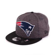 New Era NFL 9fifty Patriots de Nueva Inglaterra GORRA SNAPBACK Grafito Black