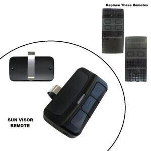Car Sun Visor Remote Control Suits black CAME TWIN2 & TWIN4 433.92Mhz