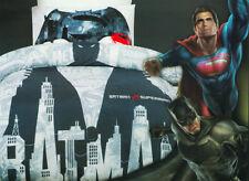 Batman v Superman Quilt Cover Set Duvet Cover Doona Kids Boys Bedding Superhero