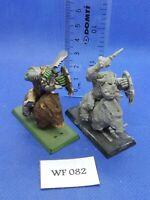 Warhammer Fantasy - Orcs & Goblins - Orc Boar Boyz x2 - WF82