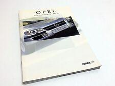 1998 Opel Corsa Combo Tigra Astra Vectra Omega Frontera September 98 Brochure