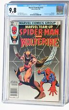 CGC 9.8 MARVEL TEAM-UP #117 * Spider-Man & Wolverine * X-Men * White Pages