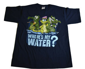 Disney Where's My Water? Boys Youth Shirt New Size L (10-12)