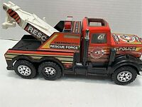 Buddy L Vintage Metal Emergency Rescue Force Police Department Truck