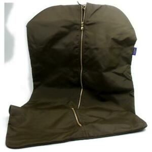 Louis Vuitton Khaki Brown Garment Cover Travel Bag 872823